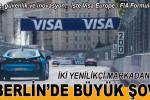 Visa Europe-Formula E şovu