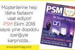 PSM Ekim sayısı çıktı!