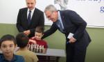 İş Bankası 20 bininci satranç sınıfını açtı