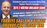 Barış Öney: 2 milyar dolar Türkiye'de yatırım için bekliyor