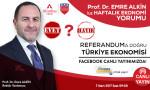 Emre Alkin canlı yayında ekonomi ve referandumu değerlendiriyor