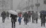 Meteoroloji'den bir kar yağışı uyarısı daha