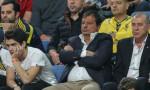 Ergin Ataman finali Fenerbahçe tribününde izledi
