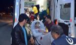 İlçe jandarma'da yangın! 8 asker hastanede