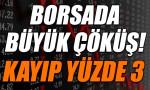 Borsa İstanbul sert düşüşle kapandı
