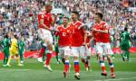 Dünya Kupası'nın açılış maçında farklı galibiyet