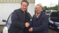 Başbakan Cameron, eşine ikinci el araba aldı