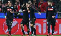 Benfica'yı yenen Napoli gruptan lider çıktı