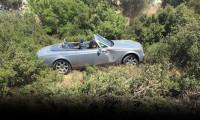 Ağaoğlu'nun Rolls Royce'u uçuruma uçtu