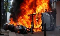 Fransa'da olaylı 1 Mayıs! Polisle çatıştılar