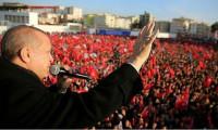 Erdoğan'ın ilk mitingi Erzurum'da