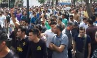 İran'da esnaf greve gitti