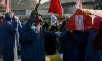 Maskeli, Kalaşnikoflu cenazede 6 gözaltı