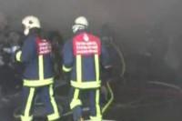 Çatalca'da sanayi sitesinde yangın!