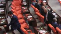 Erdoğan geldi Deniz Baykal Meclis'i terk etti
