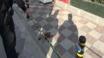 Beylikdüzü metrobüs durağı yakınlarında silahlı saldırı