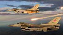 Türk jetleri Suriye'de DEAŞ'ı vurdu