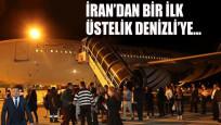 İran'dan bir ilk! Denizli'ye direkt uçuş