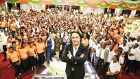 Kilisli Karabaşoğlu Ganalılara 'şans' dağıtıyor
