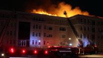 Edirne İHL'de yangın paniği