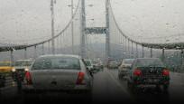 İstanbul'da yağmur bastırdı!
