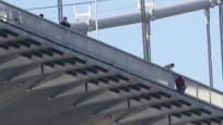 FSM Köprüsü'nde aynı andı iki intihar girişimi