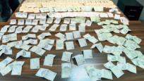 Dilencinin çantasından 6 bin 745 lira çıktı