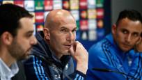 Zidane final için temkinli konuştu