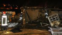 Baba ve 6 çocuğu yanarak öldü