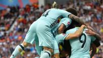 Belçika Macaristan'ı 4 golle geçip çeyrek finale yükseldi