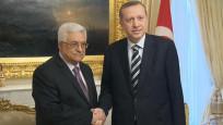 Cumhurbaşkanı Erdoğan, Filistin lideri Abbas ile görüştü