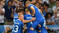 Euro 2016'da da Brexit... İzlanda çeyrek finalde