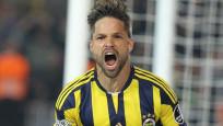 Diego Fenerbahçe'ye veda etti!