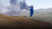 PKK'lılar araçları yaktı! 25 kişiden haber alınamıyor