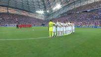Portekiz-Polonya maçında İstanbul anması
