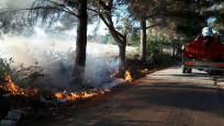 Lüleburgaz'da çıkan yangın  kontrol altına alındı