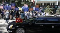 Ankara'da Biden protestosu