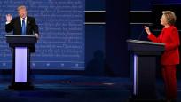 Clinton-Trump tartışmasının kazananı belli oldu