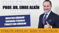 Prof. Dr. Emre Alkin Gündem Medya Grubu'nda
