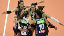 Kupa Voley Kadınlar'da da şampiyon Fenerbahçe!