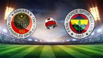 Gençlerbirliği 2-2 Fenerbahçe