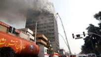 İran'da yangın