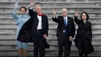 Trump Obama'yı uğurladı