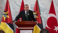 Erdoğan'dan Mozambik'te önemli mesajlar