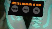 Bu ayakkabılar ne renk! Optik illüzyonlar