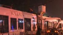 Enerji hattı koptu, tramvay seferleri durdu