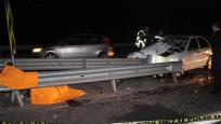 TEM'de korkunç kaza: 1 ölü 3 yaralı