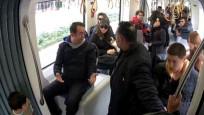 Tramvaydaki sosyal deney kontrolden çıkınca...