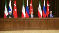 Soçi'deki zirve sona erdi! Putin: Seçimler ve yeni anayasa görüşüldü