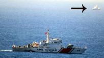 Türk sahil güvenliği Yunan sahil güvenliğini yaklaştırmadı